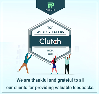 Provis Technologies received a 5-star review on Clutch